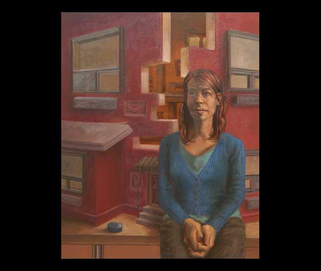 Contestant 12 (Portrait of Sarah-Joy Bennett) by Eric Budovitch