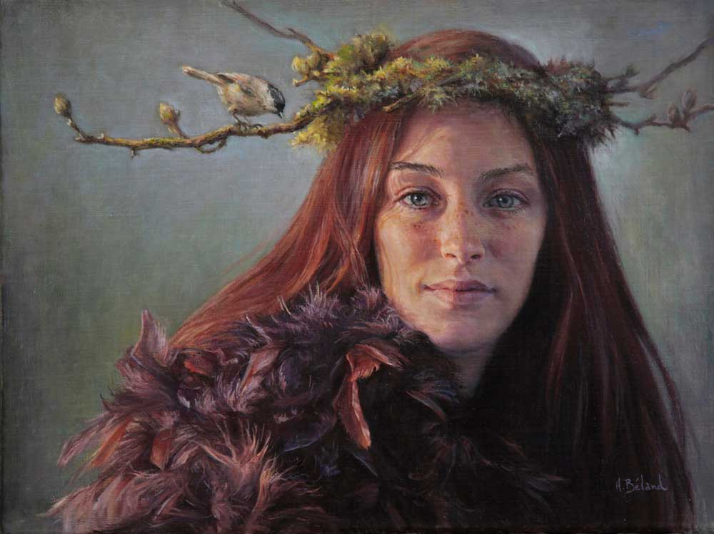 Woodland Fairy by Hélène Béland