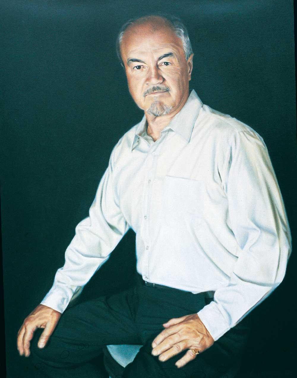 Portrait of Henry Wilkinson by Leanne Carroll