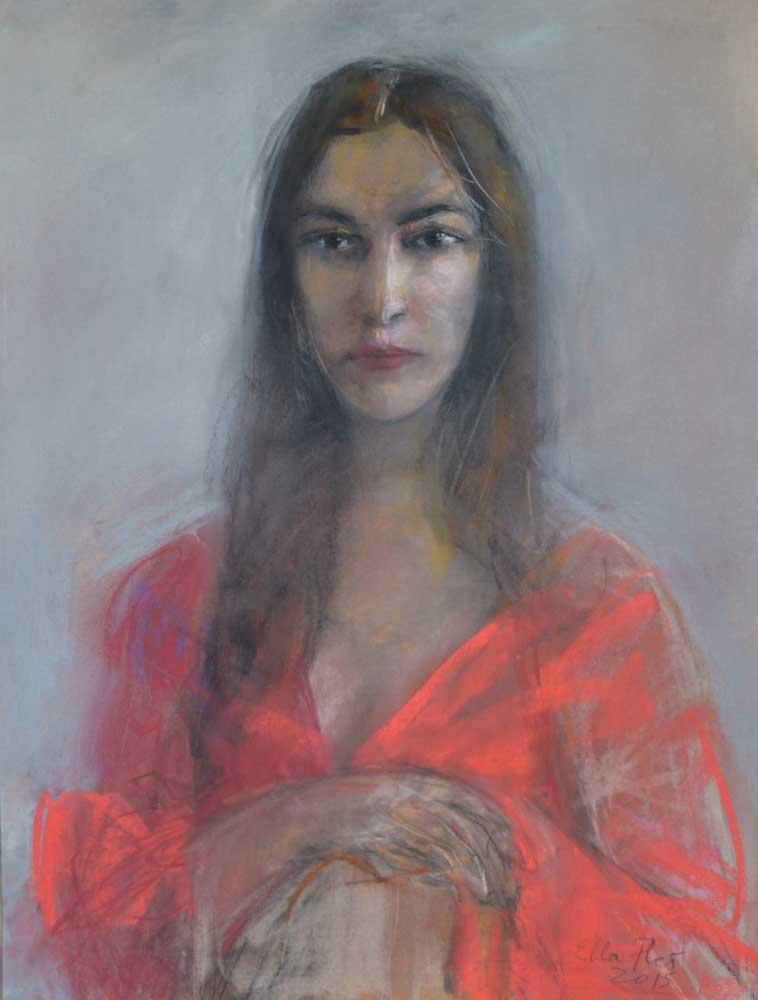 Modern Mona by Ella Fleš