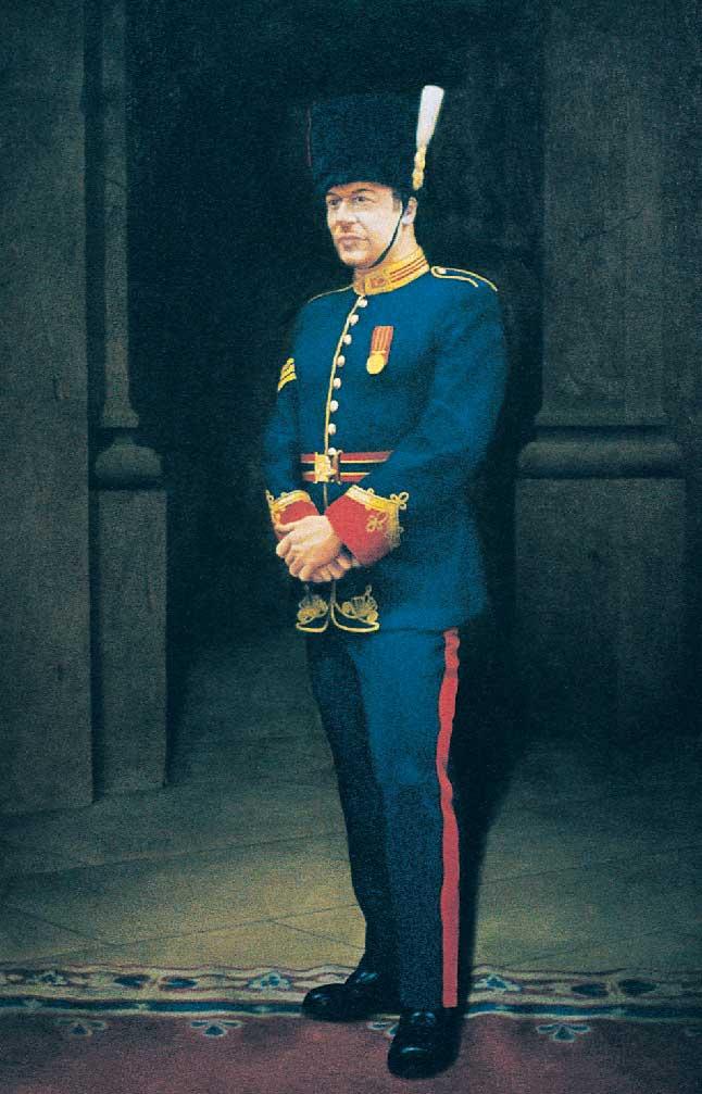 Sergeant Beaudin by Edmund Haakonson