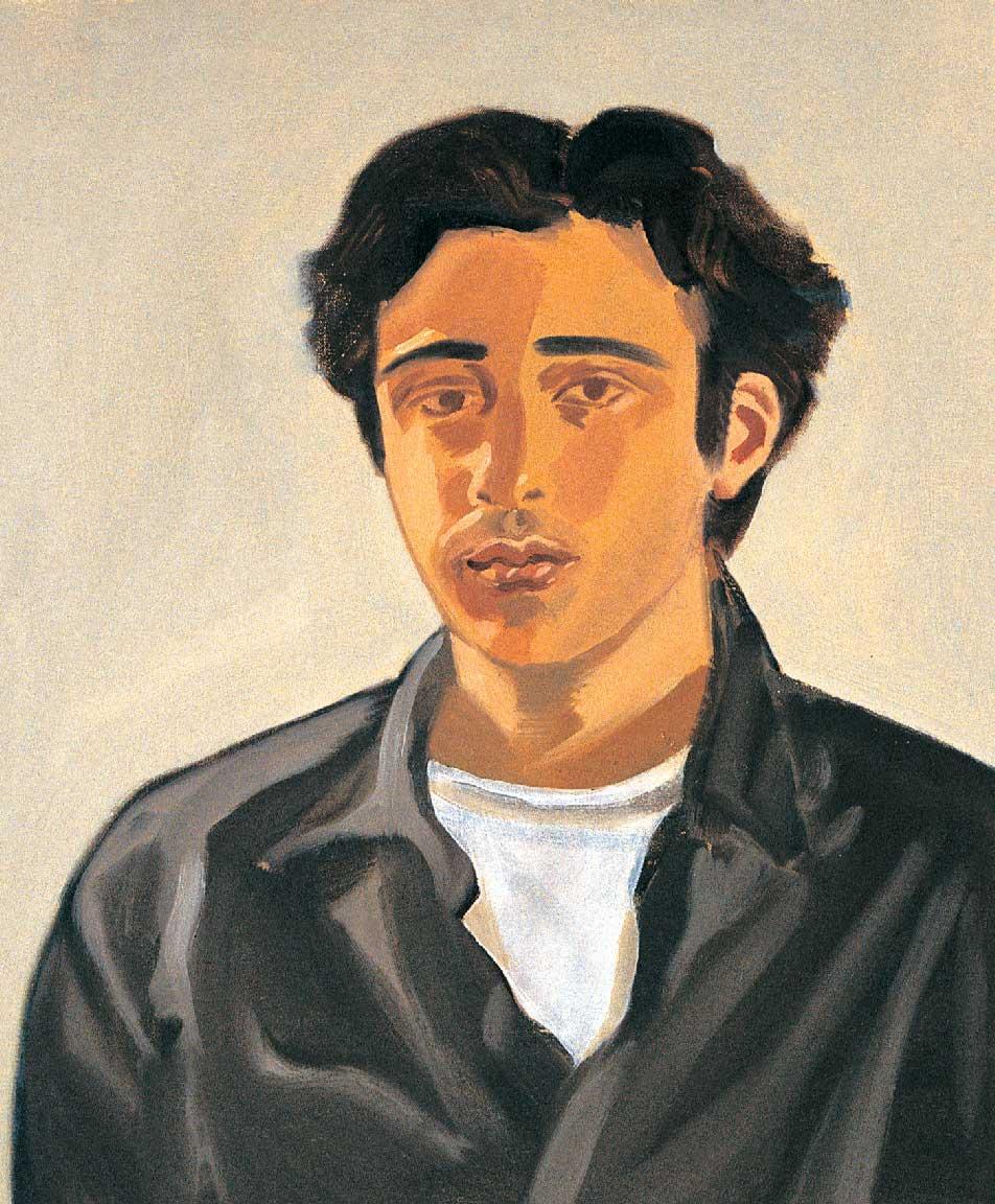 The writer Joseph Shragge by Allison Katz