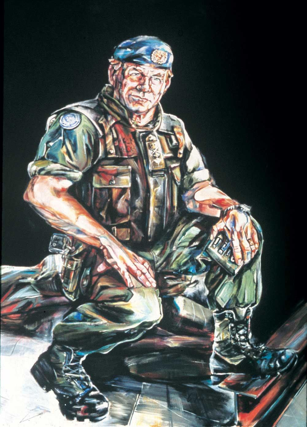 Major-General Lewis MacKenzie by Gertrude Kearns