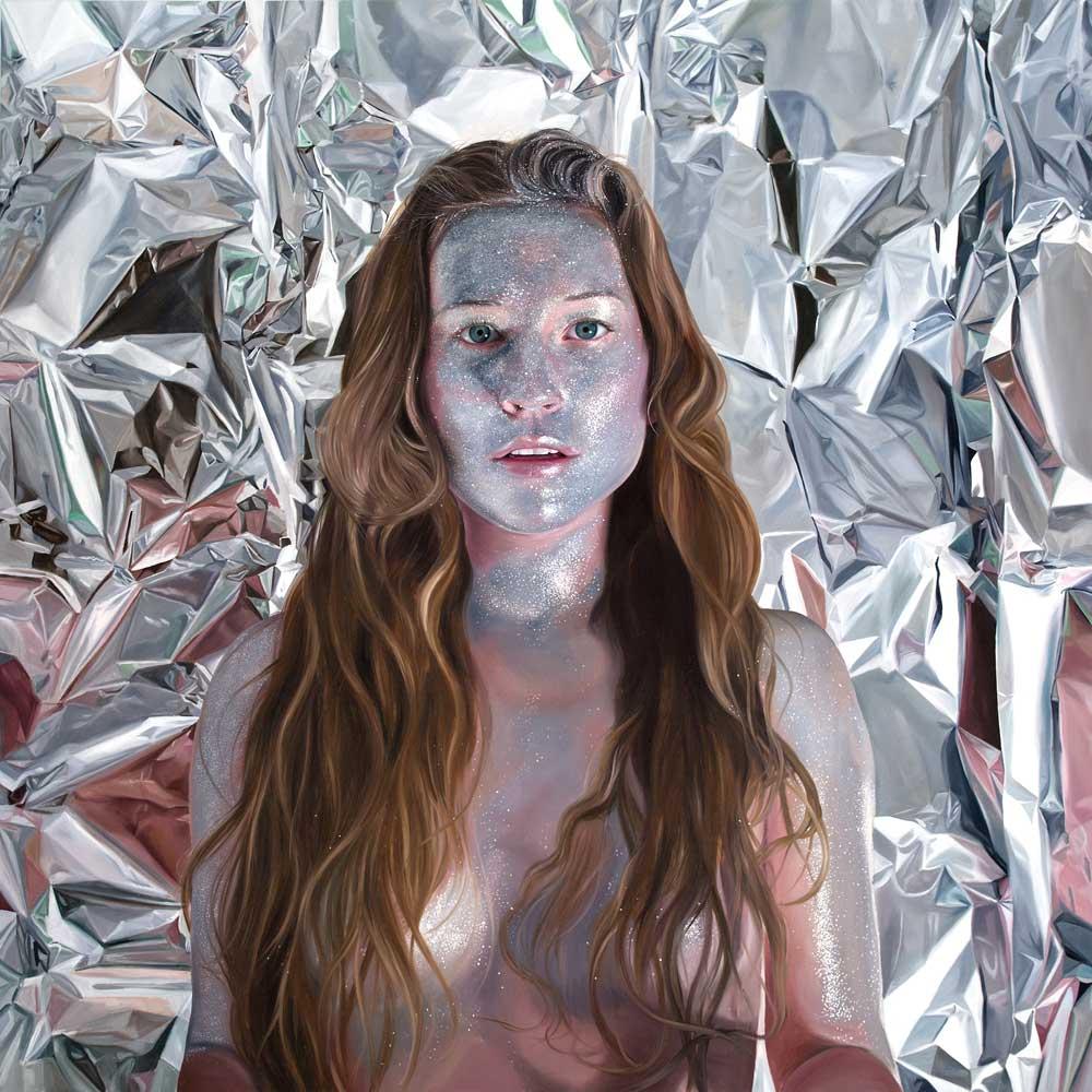 Self portrait as a Reflection by Jen Mann