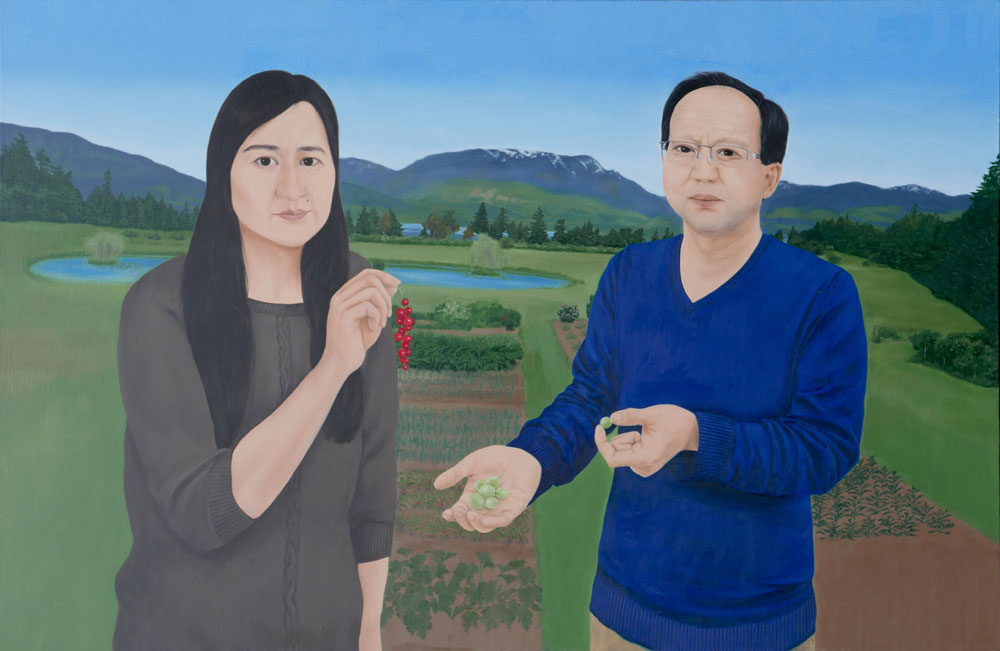 My Parents on Their Farm by Melissa Chen