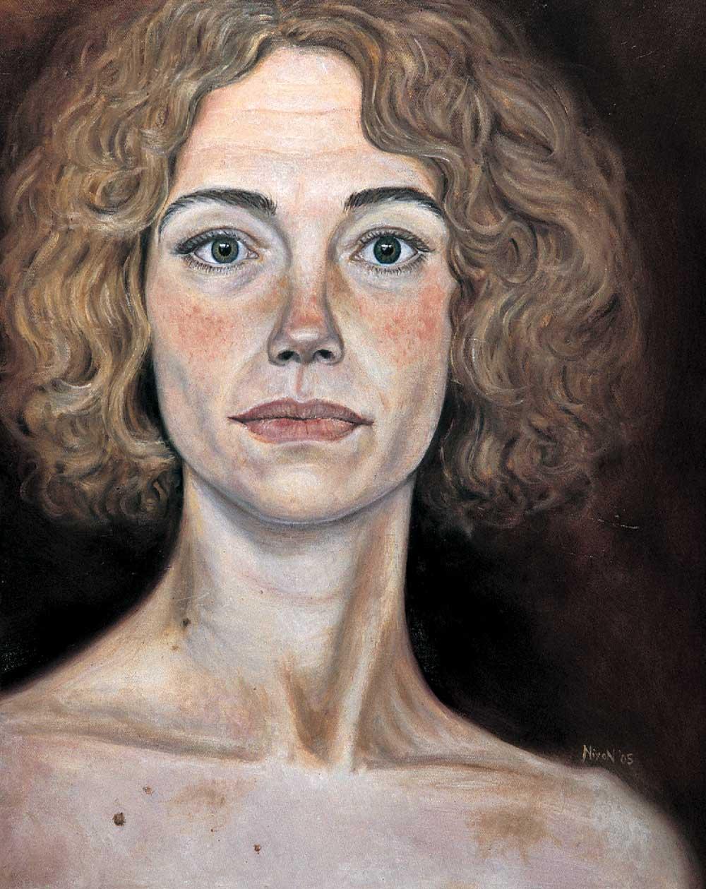 Self-portrait by Catherine Nixon