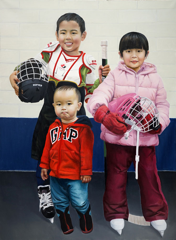 Three Sibling by Linglei Lu