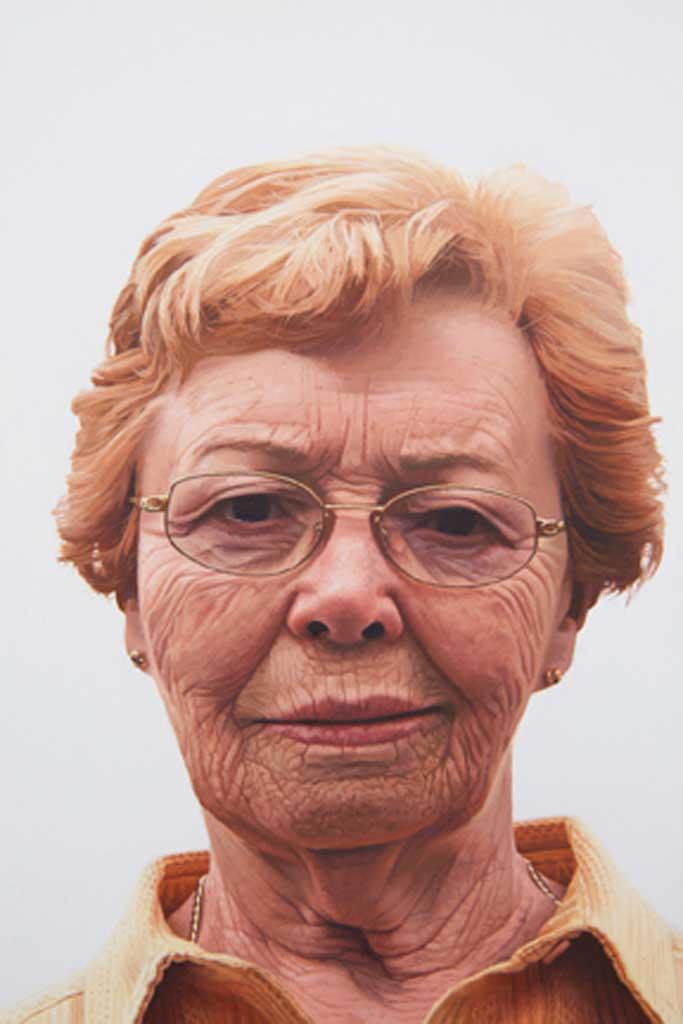 Orange Grandma by Michael Bayne