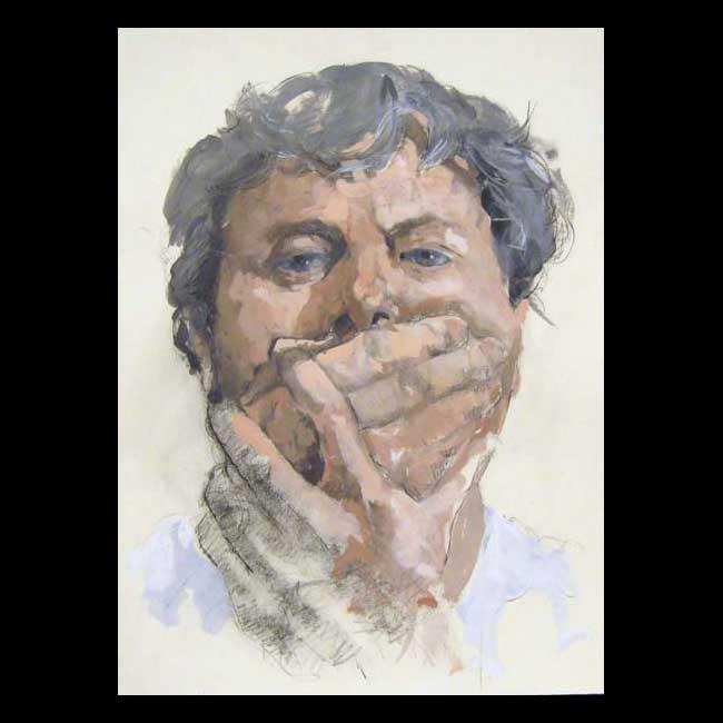 Self-portrait #4 by Jim Bourke