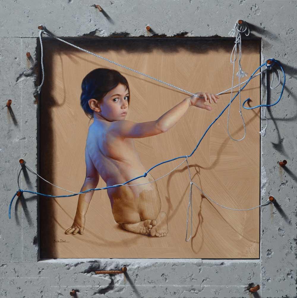 La Fille au fil by Marina Dieul