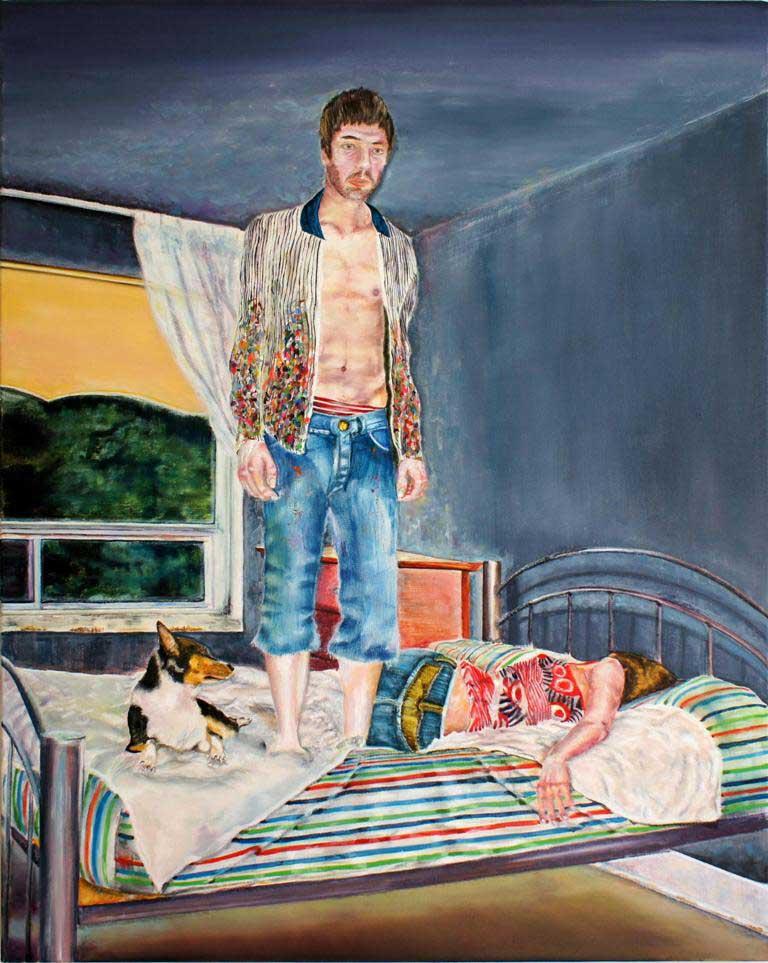 Portrait instantané de nuit by Francis Fontaine