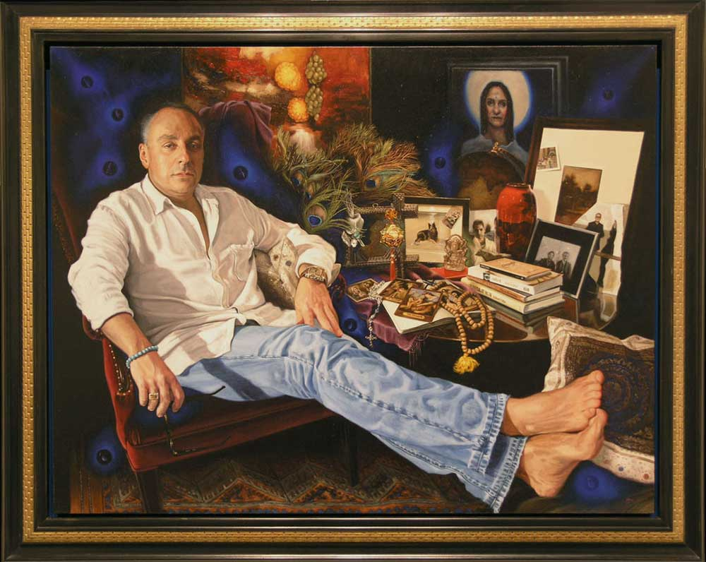 Portrait of James by Janine Hall