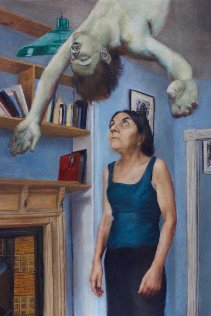 Painting to say goodbye by Soraya Hutchinson
