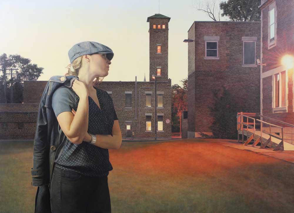 La Station de pompier (The Fire station) by Jacques Léveillé