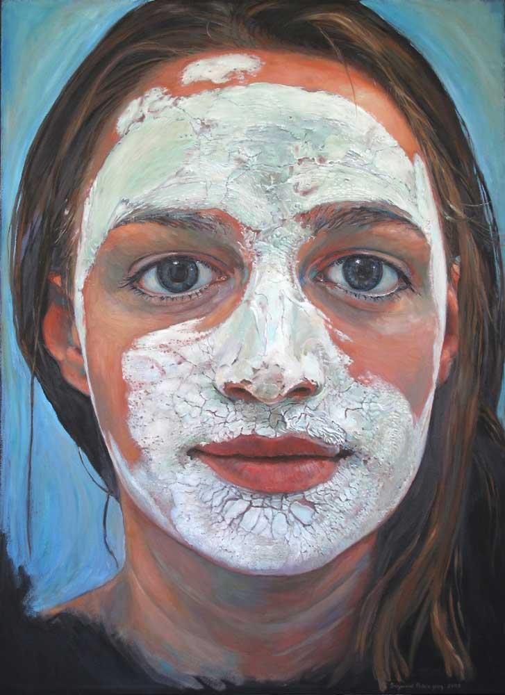 Beauty Mask by Suzanne Paleczny