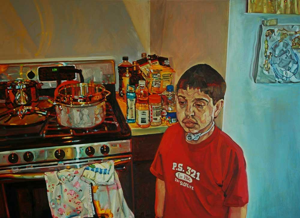 Noah in the Kitchen by Panagiotis Peter Sarganis